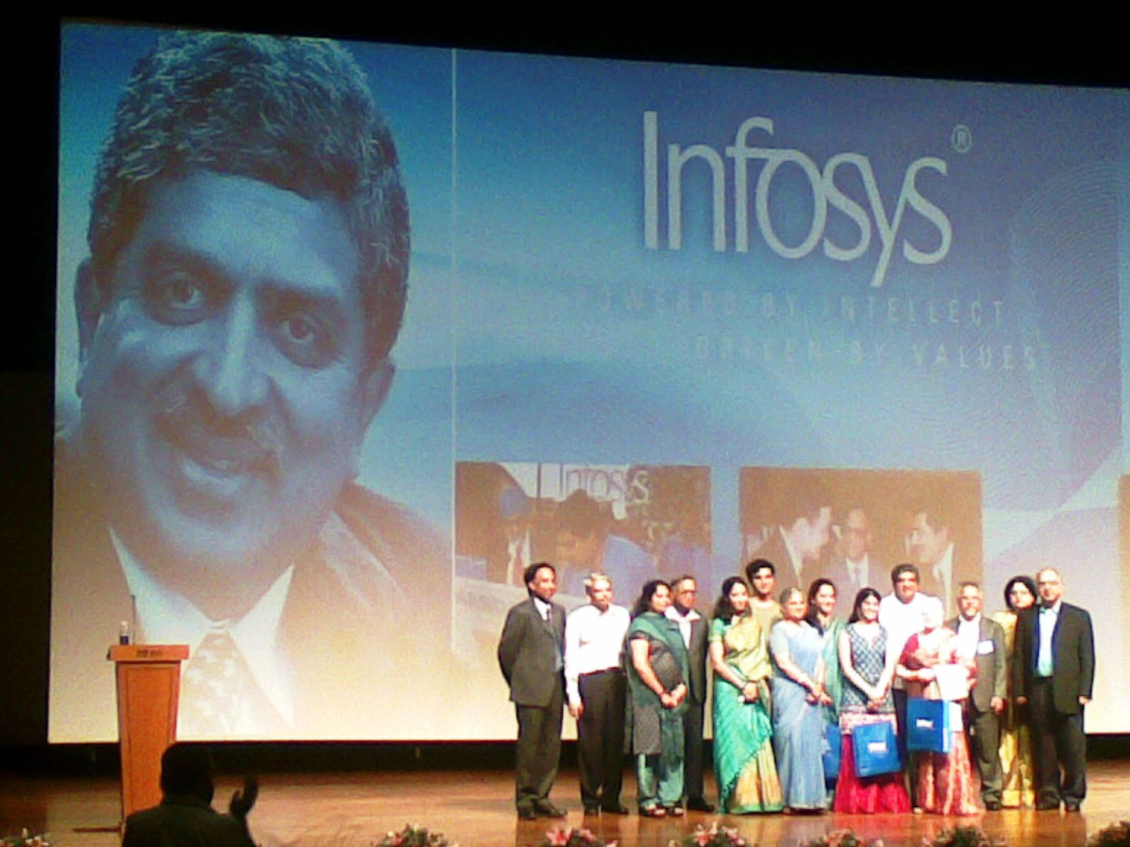 Whole Infy family at Nandans farewell