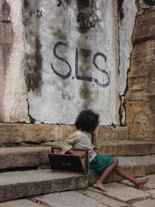 kids on the steps