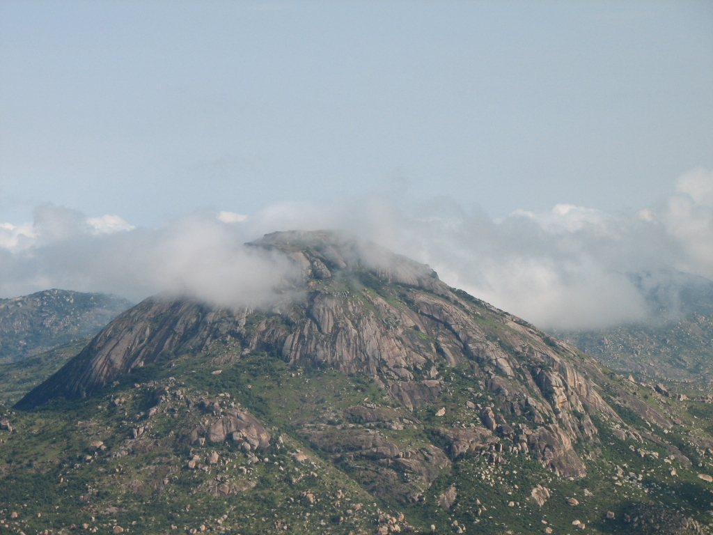 Peak of nandhi hills